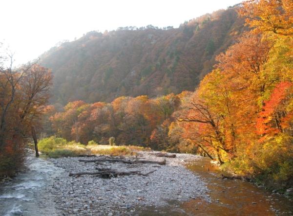 Asahi Mountains Range