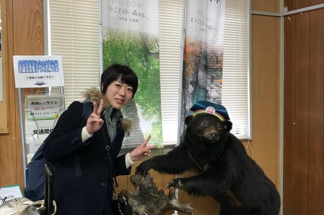緑のふるさと協力隊の千田有実子です