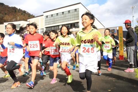 飯豊連峰 紅葉ジョギング大会